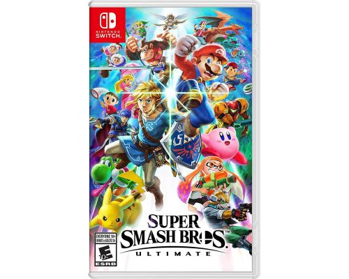 A Nintendo Switch Super Smash Bros Ultimate Game