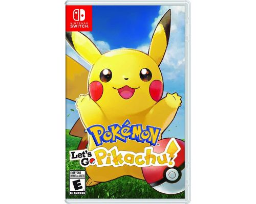 A Nintendo Switch Pokemon Let's Go Pikachu Game