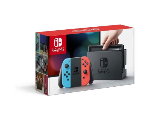 A Nintendo Switch Console