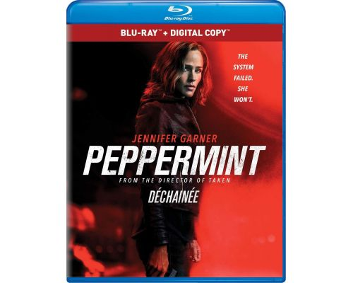 A Peppermint Blu-ray