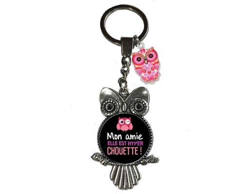 An Owl My Friend Keychain