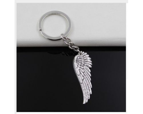 An Angel Wing Keychain