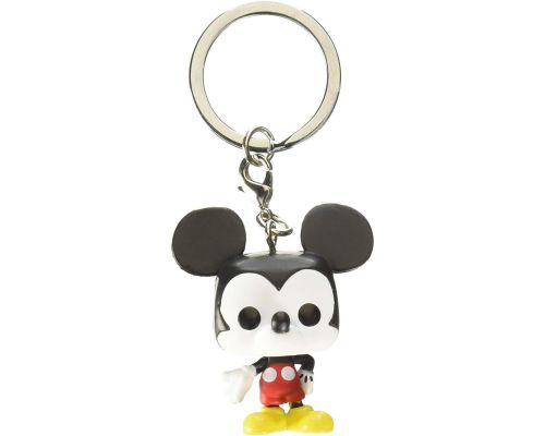 A Funko Pop Mickey Keychain