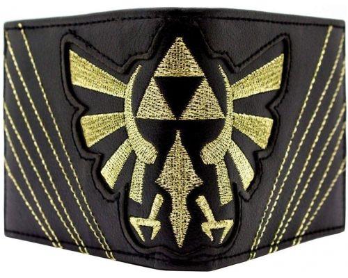 Un Portefeuille Zelda Triforce Stitched