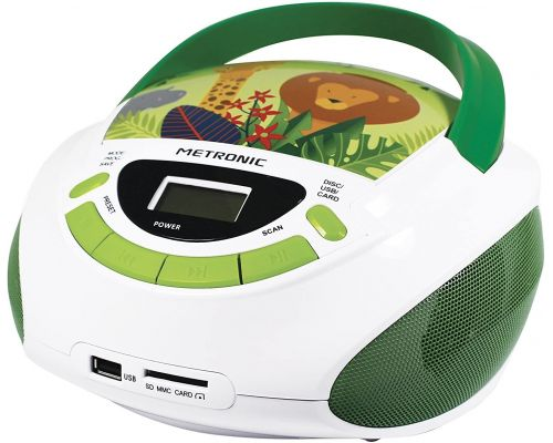 Un Poste Radio Lecteur CD enfant Jungle