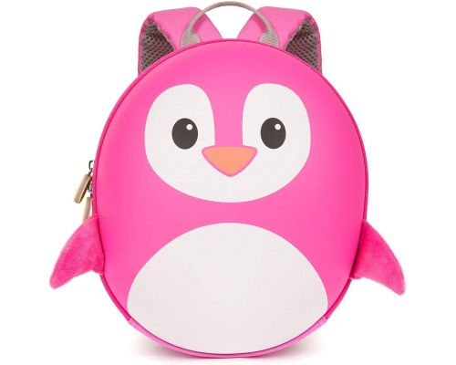 A Pink Penguin Backpack
