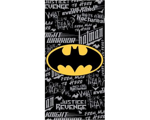 A DC Comics Batman Bath Towel