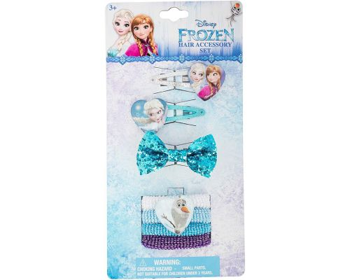 A Set of Disney Frozen Hair Accessories