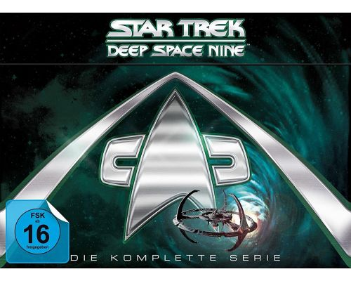 Ein Star Trek - Deep Space Nine: Die komplette Serie-DVDs