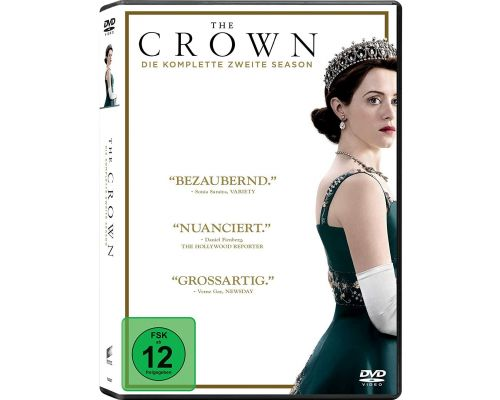 Ein The Crown - Die komplette zweite Season - DVDs