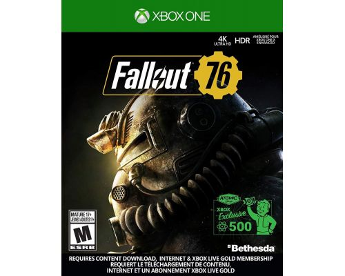 A Xbox One Game Fallout 76